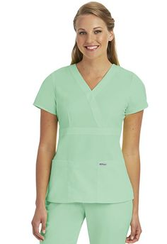 0cc6175daea Grey's Anatomy 3 Pocket Mock Wrap. Shop the Full Grey's Anatomy Collection:  http:
