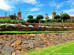 the union buildings in pretoria, south africa. Pretoria, Next Door, South Africa, Dolores Park, Buildings, Mansions, Country, House Styles, City