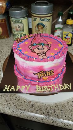 Trolls Poppy  on Cake Central