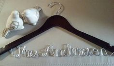 Check out this item in my Etsy shop https://www.etsy.com/listing/475115591/bride-hanger-bridal-hanger-wedding