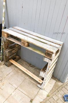 Pflanztisch DIY - upcycling - delari