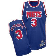 Swingman Hardwood NBA Drazen Petrovic New Jersey Nets