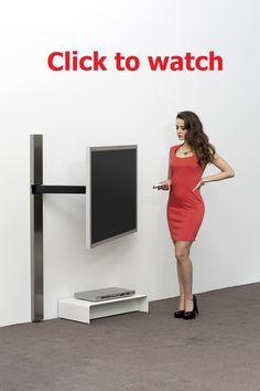 Wissmann Raumobjekte Porta Tv Girevole.24 Best Tv Idea Images Wall Mounted Tv Tvs Swivel Tv Stand