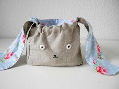 Tutorial DIY: Jak uszyć torbę zająca przez DaWanda.com