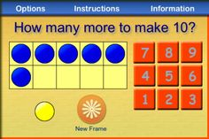 Here's a ten fram app focused on ways to make 10.
