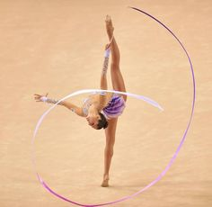 Carolina Rodriguez, Spain, ribbon qualifications in World Championships Izmir 2014