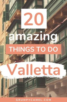 Looking for the best things to do in Valletta, Malta? Check out my top suggestions, including amazing places to visit in Valletta and the best spots for taking photos in the city. Malta Travel Guide, Europe Travel Guide, Travel Guides, Travel Destinations, Travel Advice, European Destination, European Travel, Countries Europe, Travel Through Europe