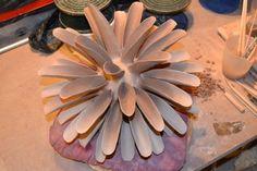 michelle maher_ceramic_water_sculpture_symmetry_process