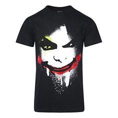 Camiseta Batman Joker Face (Negro) - medium #camiseta #friki #moda #regalo