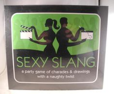 Sexy Slang Bachelorette Party Game of Charades Drawing with a Naughty Twist