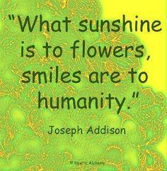 Make someone smile today...