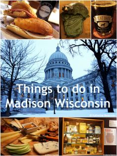 What to do when visiting #Madison #Wisconsin, including eating at Mickies Dairy Bar on Monroe Street