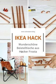 """Most current Pics Ikea-Hack: beautiful side tables from the Frosta stool Ideas A """"concept"""" goes through the Sites and pages of the network earth: Ikea Hacks. This is simply #beautiful #current #FROSTA #Ideas #IkeaHack #Pics #side #Stool #tables"""