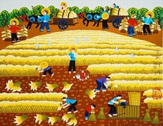 Harvest—Chinese painting