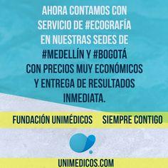Ahora contamos con servicios de #Ecografía en nuestras sedes de #Medellín y #Bogota con precios muy económicos y entrega de resultados inmediata. #Abdominopelvica #EcografíaObstetrica #EcografíaPélvicaTransvaginal #EcografíaDeProstata #EcografíaArticular #EcografíaDeTejidosBlandos #Ultrasonografía #EcografíaDúplexScanColor #EcografíaMedellín #EcografíaBogotá