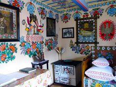 zalipie poland painted village folk art