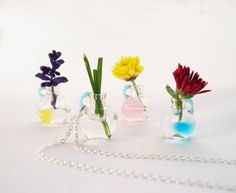 REAL Tiny Vintage Vessel Necklace  YOU Are Sooo Lovely by YOUgNeek, $24.99