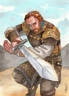 Bastard Blade [Ser Jorah Mormont] by ProfDrLachfinger.deviantart.com on @DeviantArt