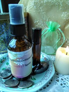 Lucky 7 hoodoo spray oil conjure magick spell casting rootwork non gmo essential oil roots luck prosperity abundance money wiccan pagan by Psychicmoonblessings on Etsy