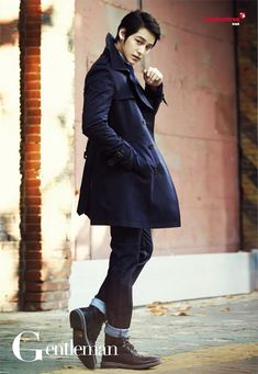 GUY CANDY: Kim Bum poses for Gentleman Korea