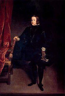Balthasar Carlos, Prince of Asturias (1629 - 1646). Son of Philip IV and Elisabeth of France.
