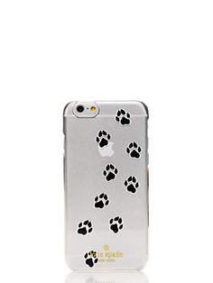 kate spade new york paw print iphone 6 case