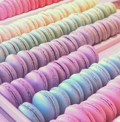 Pastel #Macarons on display...get them all!