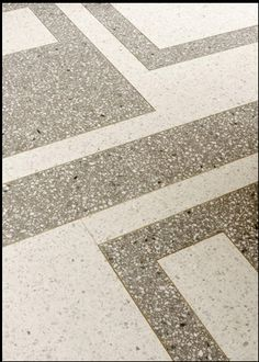 Terrazzo floor in the Pucci store in NYC - love the pattern - by Joseph Dirand