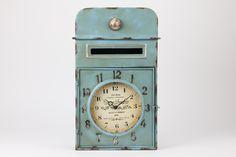 Relógio Caixa Azul | A Loja do Gato Preto | #alojadogatopreto | #shoponline | referência 123666280