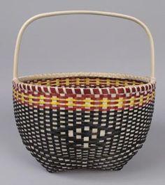 Fred Tomah, Maliseet Medicine Gathering Basket