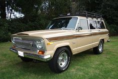1976 Jeep Wagoneer (VIN J6A15MZ092706) runs a factory AMC 401 V8 and GM Turbo 400 transmission with 53,000 original miles. The first owner's...