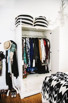 Closet Richs Elizabeth Kott Will Make You Want To Get Crafty At Home This Weekend Bedroom StorageCloset StorageNo