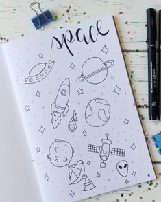 Journal Fonts, Bullet Journal Notebook, Bullet Journal Ideas Pages, Bullet Journal Inspiration, Drawing Journal, Doodle Art Journals, Doodles, Bullet Journal Aesthetic, Doodle Inspiration