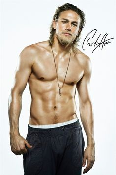 PL#204 Custom charlie hunnam Home Decor modern For Bedroom Wall Poster Size 20x30cm Wall Sticker To-720j204