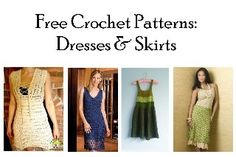 Free dress and skirt patterns for women