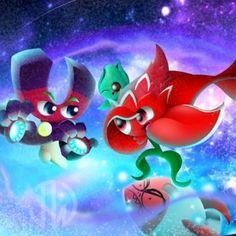 PvZ Heroes FanArt: Space Journey by JackieWolly Plants Vs Zombies, P Vs Z, Fusion Card, Zombie 2, Fantasy Comics, Chibi, Hero, Fan Art, Deviantart
