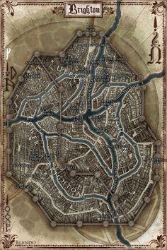 Map of Brighton