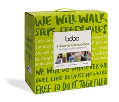 Boba baby Carrier Combo Gift Set
