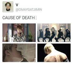 Not pictured: Jimin's facial expressions throughout the entire MV. #bts #bangtanboys