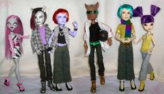http://www.deviantart.com/morelikethis/260661211/digitalart?view_mode=2  monster high dolls - Google Search