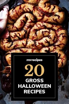 It's that time of year—when all things creepy, crawly, spooky, and grody are what's in. Get in the spirit by showing off your most disturbingly tasty dishes at the next Halloween party. Although they'll have you feeling squeamish at first glance, the following gross Halloween recipes are deceptively delicious.#halloween #halloweenrecipes #myrecipes