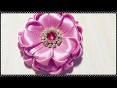 68) Tutorial Heart Shape Brooch - YouTube