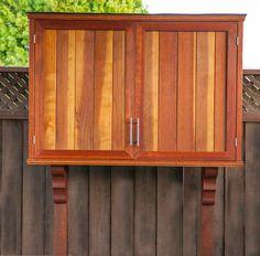 Outdoor Tv Cabinet With Double Doors Building Plan