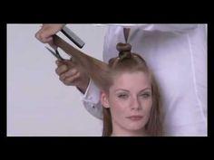 vidal sassoon haircut techniques - YouTube