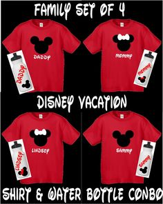 Another set of Mickey Mouse Family  Shirts