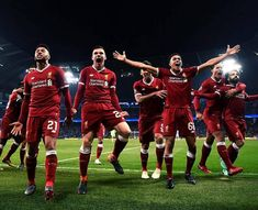 The morning after the night before. Liverpool Anfield, Liverpool Players, Liverpool Football Club, Dejan Lovren, You'll Never Walk Alone, Best Club, Steven Gerrard, Champions League, Premier League