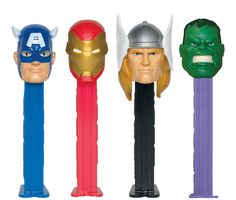 The Avengers PEZ Dispenser from BirthdayExpress.com