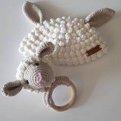 Naturel oyuncak doğal ahşap diş kaşıyıcı ve bere Crochet Hats, Amigurumi, Knitting Hats