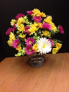 Created by the Floral Designer @ Michaels in Timmins Ontario