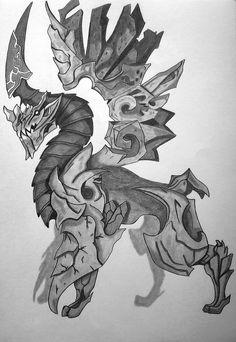 Gargoyle by Ionuț Scurtu (Shortie)